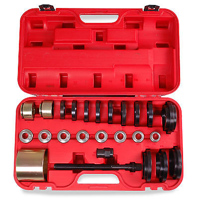 25 Pc Fwd Bearing Wheel Drive Removal Installation 60-85Mm Service Tools Kit