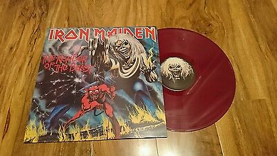 Iron Maiden Number of the Beast Colour Vinyl