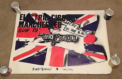 Original Anarchy In The Uk Poster