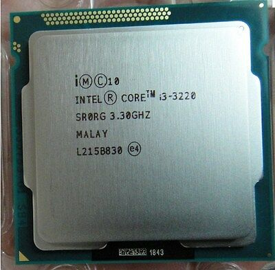 Processeur CPU Intel i3 3220 3.30 Ghz socket 1155 ivy bridge