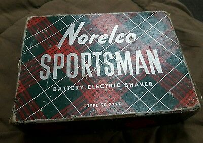 Vintage Norelco Sportsman Shaver New in the Box