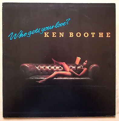 KEN BOOTHE Who gets your love? LP Reggae 1979 EX+ OUT(2)