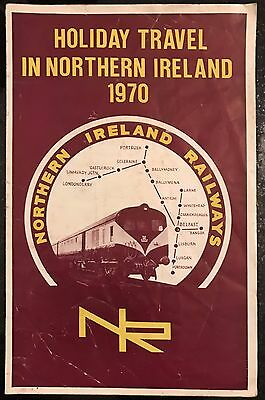 Holiday Travel in Northern Ireland 1970 Timetables