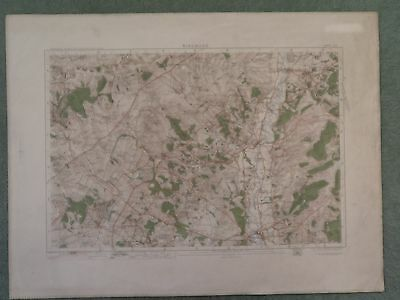 Ordnance Survey Map 314 Ringwood 1905 Downton Fordingbridge Poulner Martin Hale
