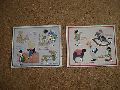 Little Tot's 2 1920s Song Cards