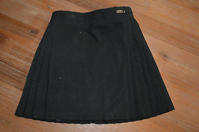Girl's Size 4 Black School Uniform Pleat Sport Skirt