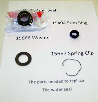 Maytag Wringer Washer A4298 Seal for Agitator Shaft Package & Instructions