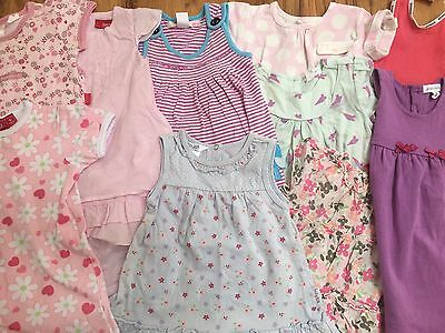 Baby girl's size 0 mixed summer items Sprout, Pumpkin Patch very good condition