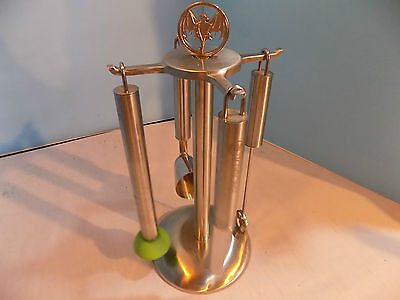 Bacardi Rum Stainless Steel Bar Set Stand