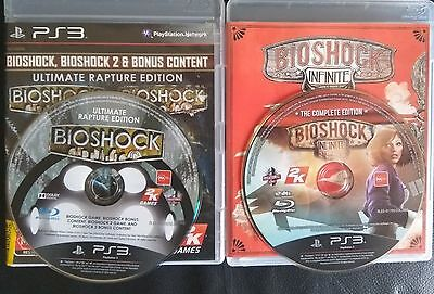 Bioshock Ultimate Rapture Edition Infinite Complete Edition Playstation 3 PS3