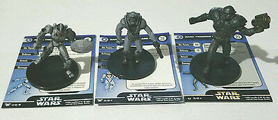 LOT - Star Wars Miniatures Imperial Assault Dark Trooper Phase 1 2 3 - FREE SHIP