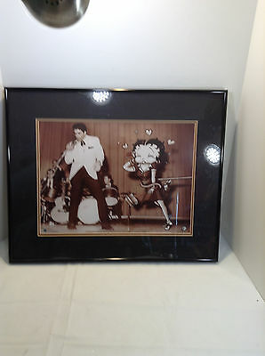 Betty Boop Starstruck w/Elvis Presley / Toon Art Lithograph / Limited Edition