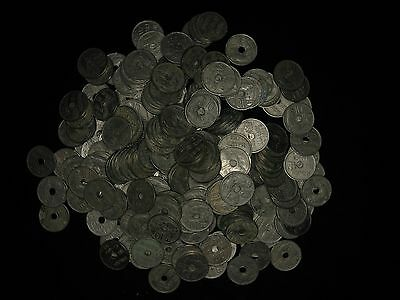 Lot of 245 Greece 10 Lepta 1912 Coins Owl
