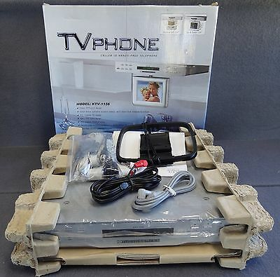 TV Phone KTV-1156 Caller ID Hands-Free Telephone TFT-LCD Panel Under Cabinet