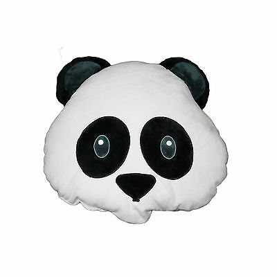 Panda Emoji Pillow Smiley Emoticon Cushion Stuffed Colorful Plush Toy 30cm