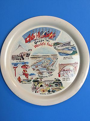 EXPO '74 Serving Tray