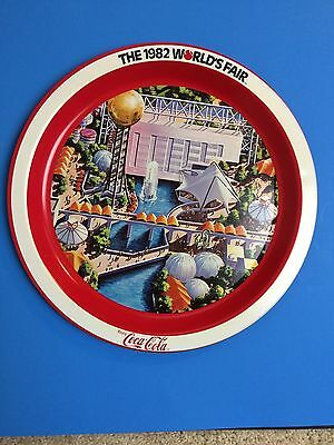 1982 Knoxville World's Fair Coca Cola serving tray