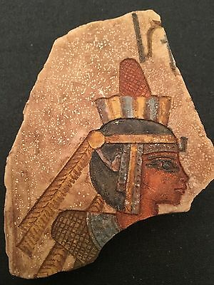 Rare Ancient Egyptians limestone Queen Hatshepsut -1482 BC to 1479 BC