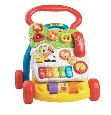 VTech First Steps Baby Walker, New Interactive Play Activity Toy, Infant Toddler