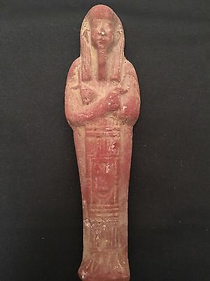 Rare Ancient Egyptian blue shabti New Kingdom