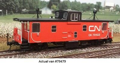 Trueline Trains - Pointe Ste. Charles caboose  - CN - Canadian National #79479