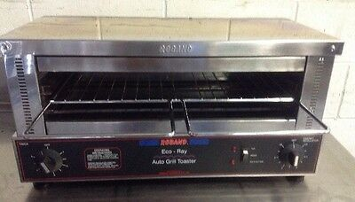 ROBAND ECORAY Top & Bottom Salamander Grill Toaster Commecial Cafe Equipment