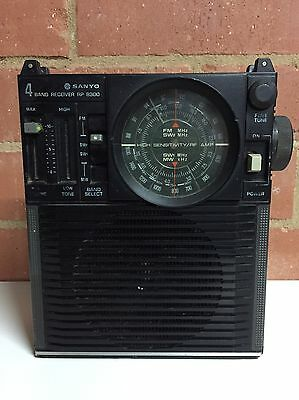 Vintage Sanyo 4 Band Receiver Portable Radio Model RP8300