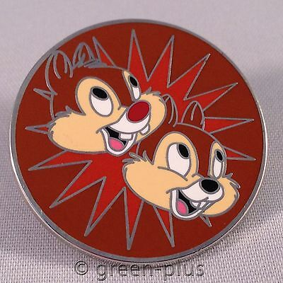 Disney Pin - Chip N Dale Magical Mystery Set Collection Smiling Brown Starburst