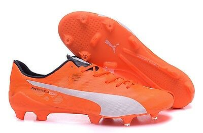 Puma Evospeed soccer boots - Available sizes 8.5,9,12