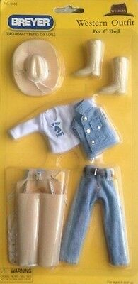 "Breyer ""Western Outfit"" for 6'' Doll"