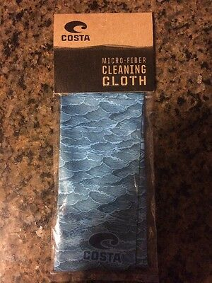 Costa Sunglasses Microfiber Cleaning Cloth And Brand-New