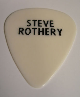 Marillion Steve Rothery Guitar Pick Clutching At Straws 1987 Tour