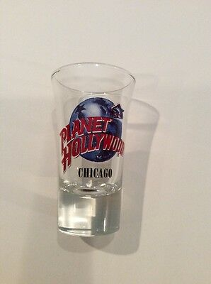 Planet Hollywood Tall Shot Glass - Chicago