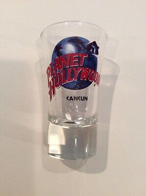 Planet Hollywood Tall Shot Glass - Cancun
