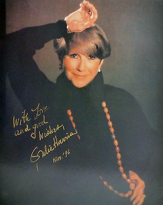 JULIE HARRIS Hand Signed Autographed 8 x 10 Glossy
