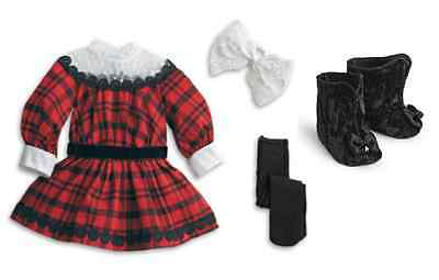 American Girl Doll LE Samantha Holiday Set~Outfit Only~FREE SHIP