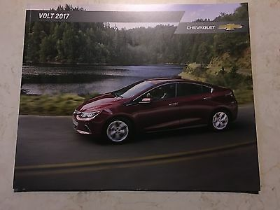 2017 CHEVY VOLT 28-page Original Sales Brochure