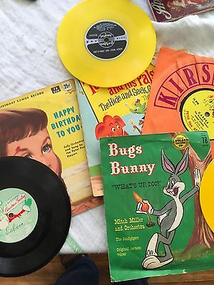 Vintage Children Records Bugs Bunny ,twinkles And His Friends Etc.