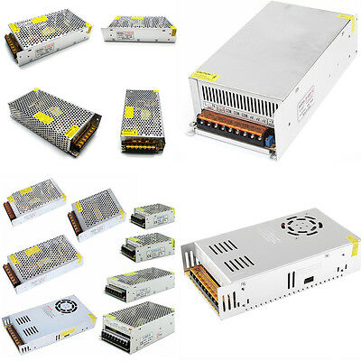 AC 110V to DC 5V 12V 24V 36V 48V Transformer Switch Power Supply For LED Strip