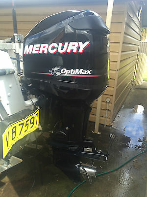 2010 Mercury Optimax 115 hp DFI Outboard 200 hours