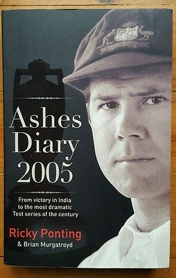 Ricky Ponting Signed 2005 Ashes Diary