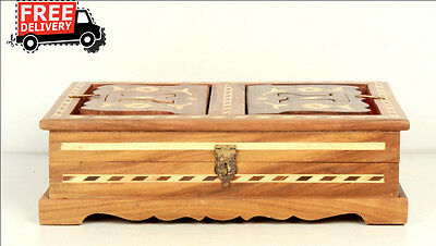 Islamic Muslim Quran Box/convertible Holder Ramadan Eid Camel Bone Fitted 7884