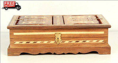 Islamic Muslim Quran Box/convertible Holder Ramadan Eid Camel Bone Fitted 7882