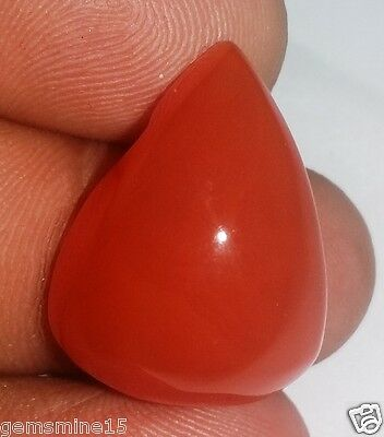27.00 CT CARNELIAN 100% NATURAL CERTIFIED AAA+ SUPERB Quality Gemstone