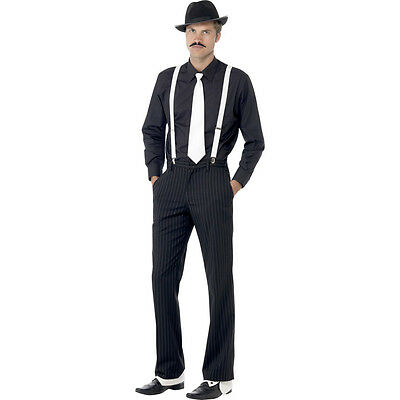 Al Capone Costume Set Gangster Costume Set Mafiaset 20s Years Clothes Outfit