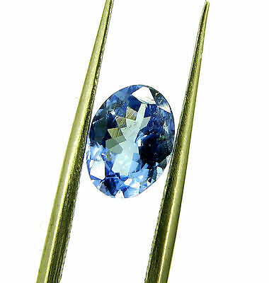 1.02 Ct Certified Beautiful Natural Tanzanite Loose Oval Gemstone Stone - 118391