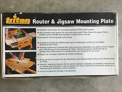 Triton Router & Jigsaw Mounting Plate