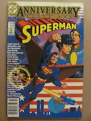 Superman #400 DC Comics 1984 Anniversary Issue Canadian Newsstand Edition