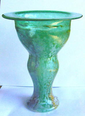 Kosta Boda Artist collection glass vase # 49511 signed by Kjell Engman