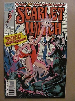 Scarlet Witch #1 Marvel Comics 1994 Series 9.4 Near Mint